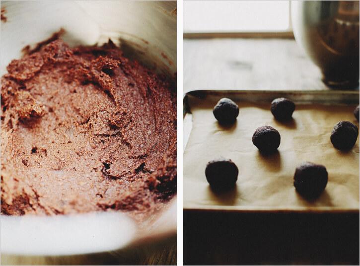 tripple chocolate cookies Blograinbow