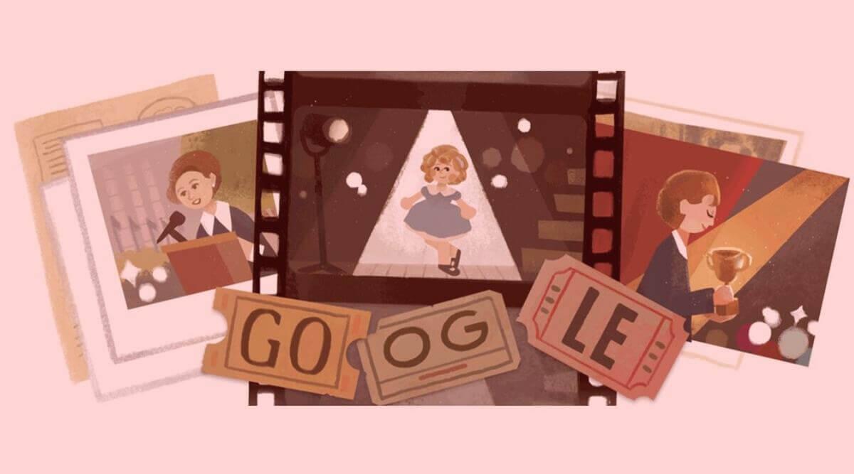 Shirley Temple Google Doodle Blog Rainbow