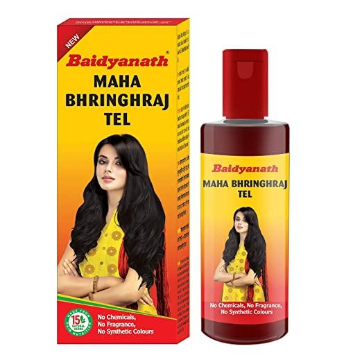 Baidyanath Mahabhringraj Tel - 200ml - Ayurvedic Hair Oil